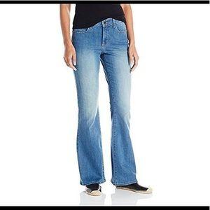 NYDJ Flare Jeans Medium Blue Wash